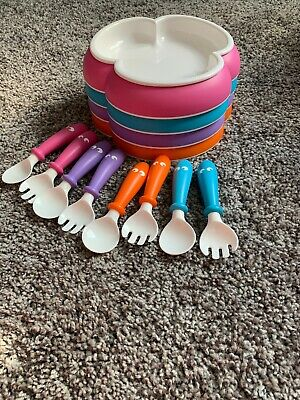 Baby Bjorn Bowl Set Of Four With Utensils