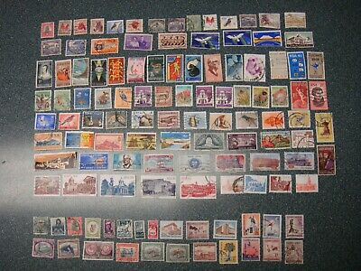 Lot of 117 Postage Stamps from South Africa and South West Africa
