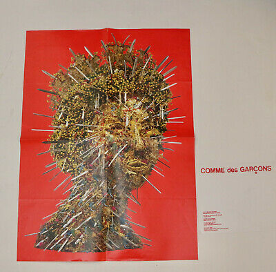 COMME des GARCONS 2005 Hew Locke 2 sided poster