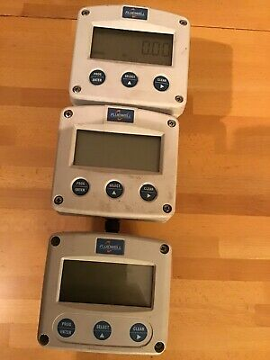 "3 off Used 1""  Gemini Oval Gear Flowmeters"