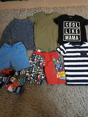 Boys clothes bundle age 5-6 from Next and River island