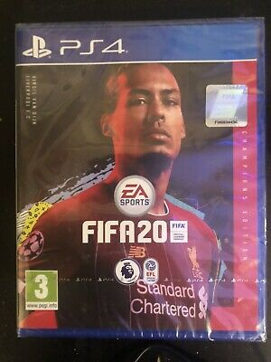 FIFA 20 Champions Edition PS4 game - BRAND NEW AND SEALED