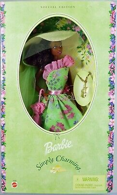 Barbie Simply Charming Doll Special Edition #54242 New NRFB 2001 Mattel, Inc.