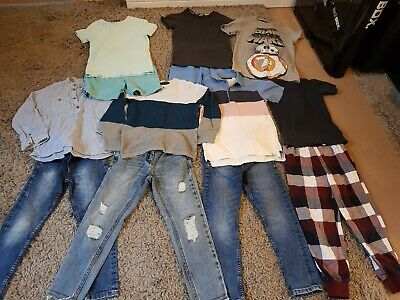 Boys clothes bundle age 7-8 lots of Next