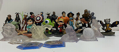 Disney Infinity Huge Collection 26 Figures Great Condition Rare Star Wars Marvel