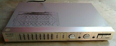 Sony SEH-310 9 Band Hybrid Graphic Equalizer Vintage