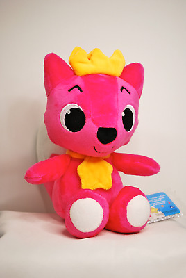 "Pinkfong Baby Shark 12"" Singing Plush Fox. New With Tags.Rare.WowWee Item #61101"
