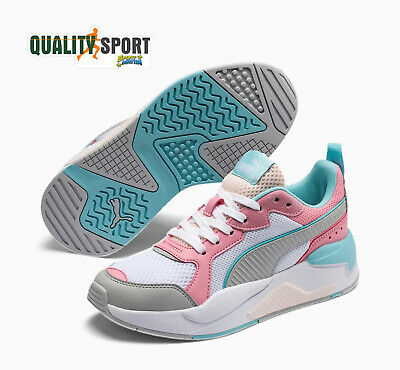 PUMA X RAY BIANCO Rosa Scarpe Shoes Donna Sportive Sneakers