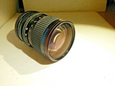28-70mm F3.5-3.8 Manual Focus Zoom Lens w/Macro.Canon FD MT. Commander/JAPAN