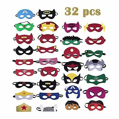 Formwin 15pack Superhero Masks for Children Kids Adults Party...