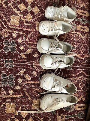 Vintage Baby Shoes Size 2, 3.5, 4.5