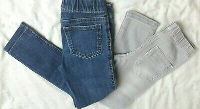 Girls Denim Jeggings Jeans Age 7-8 Years  Excellent Condition