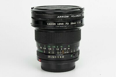 Canon FD New 20mm 1:2.8 obiettivo wide angle lens