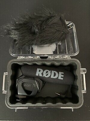 Rode VideoMic Pro Shotgun/On-Device Wired Microphone w/ Pelican Case & Deadcat