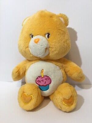 "Care Bears - Birthday Bear - 13"" Plush  Teddy Bear Free Shipping"