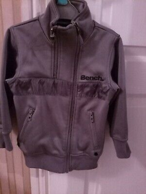 Boys Grey Bench Zip Jacket Age 2-3 Years