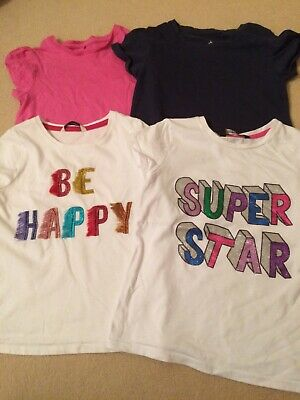 Girls Tshirt Bundle From Next And George At Asda Age 5-6 Years
