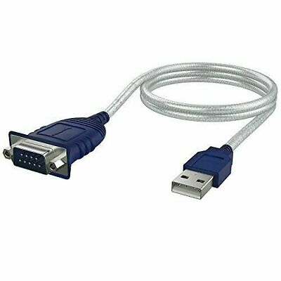 Sabrent USB 2.0 to Serial 9-Pin Db-9 RS-232 Converter Cable (SBT-USC6M)