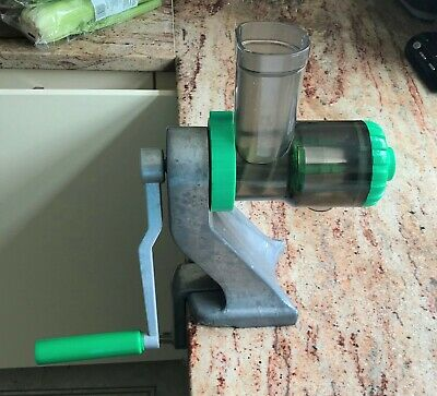 Tribest Z Star Juicer Silver Green