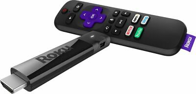 Roku Streaming Stick+ 3810R 4K Ultra HD Resolution HDR Media Voice Remote New