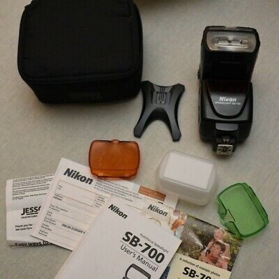 Nikon Speedlight SB-700 Shoe Mount Flash Boxed with all accessories