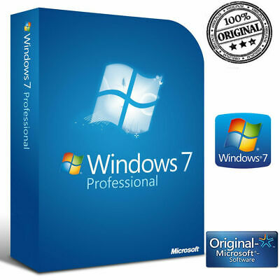 Windows 7 Pro Professional 32/64 Bit Codice Originale Esd Licenza