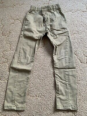 Next Boys Twisted Sean Chino Style Trousers 6 Yrs EXCELLENT CONDITION