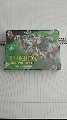 MTG Magic Theros Beyond Death Collector Booster Display Box Sealed