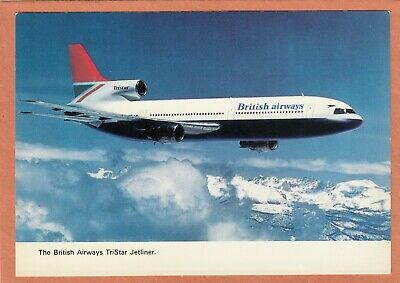 2125 - British Airways Tristar Jetliner - Avion - Plane - Neuve