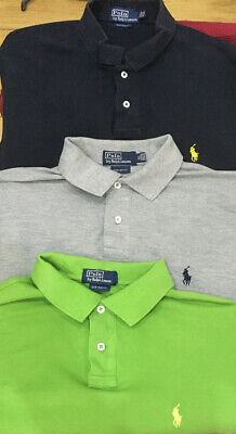 Ralph Lauren Polo Shirt Job Lot XL Designer Polo Shirt Ralph Lauren Extra Large
