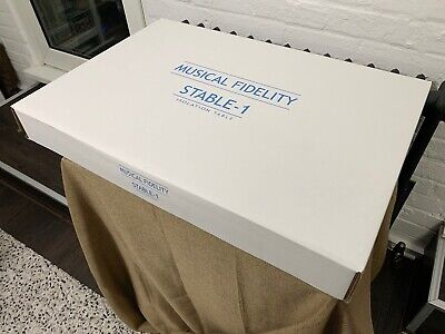 Musical Fidelity Stable 1 Isolation Platform (new, very rare and collectible)