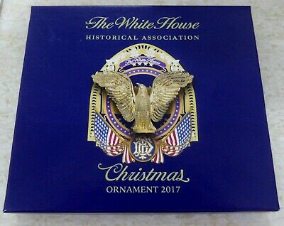 The White House Historical Association Christmas Ornament 2017 New In Box!