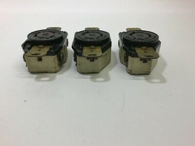Hubbell Twist-Lock 20 Amp 480 Volts Lot of 4 Receptacle