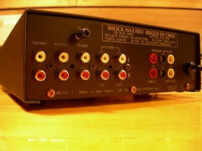 Ion Obelisk 2 Stereo Amplifier Fully Serviced Superb Phono Stage British Quality