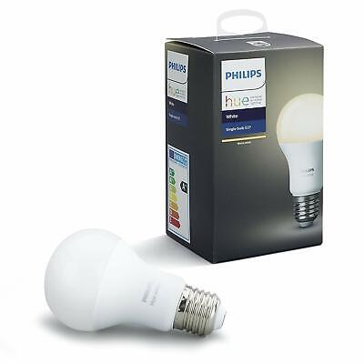 Philips Hue 9W LED White Wireless E27 Light Bulb X 2 (BRAND NEW)
