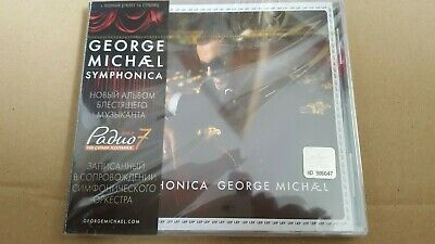 George Michael Symphonica - Russian Cd  (Rare  Sealed Copy  ) With Obi