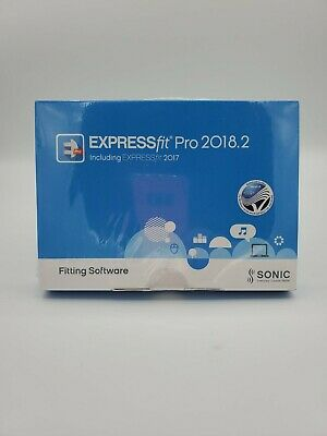 Sonic Innovations Expressfit Pro 2018.2 Hearing Aid Programming Software USA