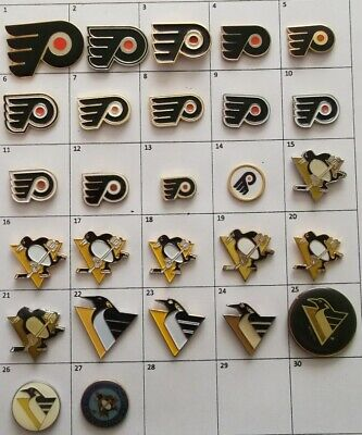 Different Teams (Philadelphia Pittsburgh) Nhl Hockey Logo Pin (Your Choice) G870