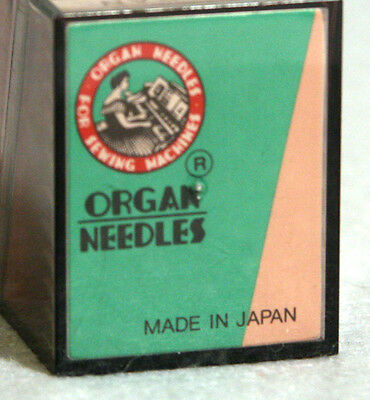 100 pc.ORGAN INDUSTRIAL EMBROIDERY MACHINE NEEDLES DPX7 70/10 SES SY 1901 135x7