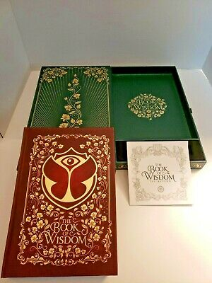 Tomorrowland 2019 Treasure Case No Bracelet, Book of Wisdom and Program