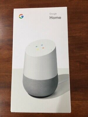 Google Home Smart Speaker & Home Assistant   - White Slate-Brand New unopened