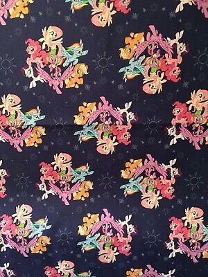 My Little Pony baby toddler sheets set  navy