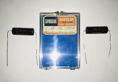 sprague black beauty Or Beauties capacitor For Vintage Radios And Electronic