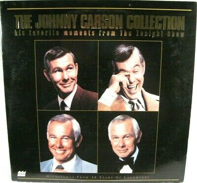 THE JOHNNY CARSON COLLECTION Laserdisc PLAY TESTED Tonight Show Favorite Moments