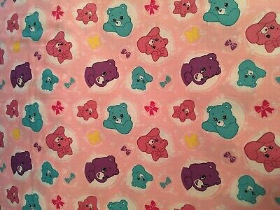 Care Bears baby toddler sheets set arrows light pink