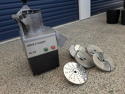 Robot Coupe Food Processor CL 50 Commercial Kitchen c/w 5x Slicer Blade / Attach