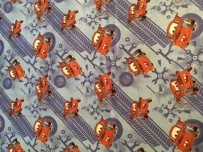 Disney Cars Mater baby toddler sheet set light blue wrenches