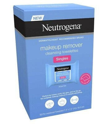 Neutrogena Makeup Remover Cleansing Towelettes Singles, 60-count