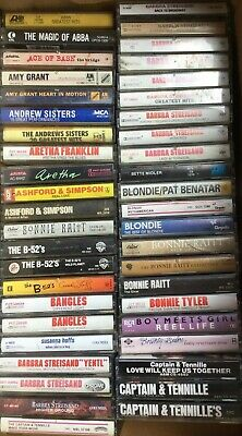 Pick 5 Girl Related Groups Cassette Tapes From This Lot HEART MADONNA BLONDIE