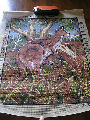 Collection D'Art: Kangaroo/Joey: No.11148:: Canvas ONLY : : New